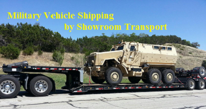 Military Truck Shipping
