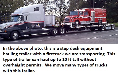 Shipping a Truck